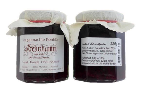Sauerkirsche-Zitronenthymian